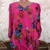 Яркая женская блуза George, размер Л
