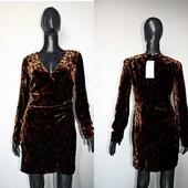 Качество! Шикарное бархатное платье от Zara