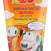 Безопасная! Детская зубная паста «Яблоко» 3+/ УП-20%