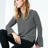 Стильная блуза TCM Tchibo Германия р.38 евро