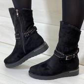 Крутейшие зимние ботиночки!!! Качество на висоте!!!!