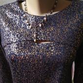 Красивое теплое платье, размер М.
