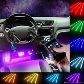 Универсальная автомобильная RGB led подсветка
