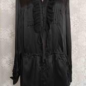 платье рубашка шелк +котон
