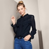 Шикарная кружевная блузка от Tchibo(Германия). Размер 38 евро, на наш 44/46