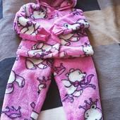 Теплый костюмчик для малышки. Ориентируемся на замеры.
