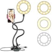 Подсветка Led для стриминга кольцевая лампа кольцо для стрима