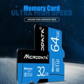 Новая 10класс! MicroSD карта памяти 64gb, для телефонов, плантешов.
