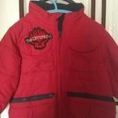 Курточка полностью на флисе на 2-3 года