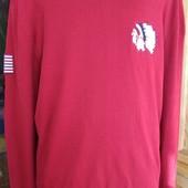 Мужской легкий реглан, пуловер