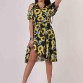 Новинка!!! платье подсолнух не дорого