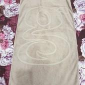 Хлопковое махровое полотенце 70*130 в отличном сост.,после прачечной, плотность высокая 550 г/м².