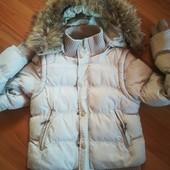 куртка жилет. зима 2 в одном
