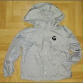Двусторонняя куртка, флиска, дождевик. Фирмы F&F на 4-5 лет.