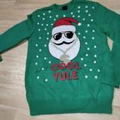 Новогодний свитерок М