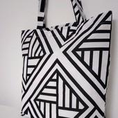 Стильная практичная контрастная сумка