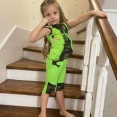 Новый яркий костюм на девочку, разные размеры