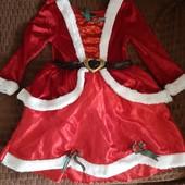 Симпатичне новорічне платтячко, для вашої принцески