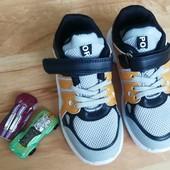 ✔✔✔✔ новые кросовки легкие 19 см по стелькеУП 20%, НП 5% скидка!✔✔✔✔