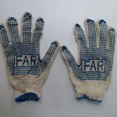 В лоте 50 пар Рабочие перчатки по ставке любое количество