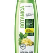 Шампунь-бальзам 2 в 1 «Укрепление и блеск» для всех типов волос Botanica, 400 мл фаберлик