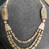 Этно ожерелье из кости Камбоджа