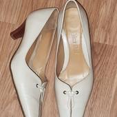 ❤ Распродажа ❤ Всё туфли 69 ❤ кожаные туфли из натуральной кожи стелька 26,5