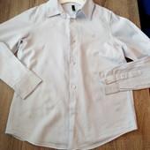 Стоп!! Фирменная удобная яркая натуральная красивая стильная рубашка от Benetton