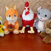 Мягкие игрушки, 7 штук!!!