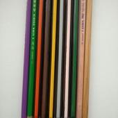 Фірмові кольорові олівці 10 шт Німеччина