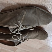 Loake 43р замшевые ботинки