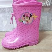"""Резиновые сапожки """"Disney"""" . Яркие,красивые. Качество отличное!!размер и цвет в лоте"""