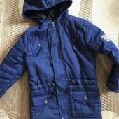 Куртка-парка на 6-7 років зріст 122-128