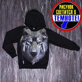 Джемпер Волк размеры 122-128-134