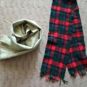 Два якісні шарфи в новому стані