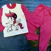 Пижама с начесом. Единорог, пони. Смотрите замеры!!!