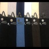 """Классные колготы""""Biedronka"""" Кошки"""" с люрексовой ниткой на кошках и низ.Размеры от 116-134 Все цвета"""
