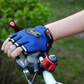 Перчатки спортивные вело перчатки черные!