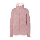 ☘ В'язана флісова куртка з плюшевим комірцем Tchibo(Германія), р. наши: 50-52 (L евро)