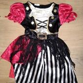 Карнавальное платье на Хеллоуин 3-4года замеры на фото