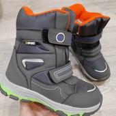 Зимние Термо ботинки На молнии для мальчика,Качество и модель супер!