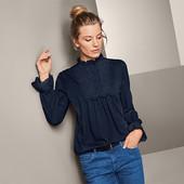 ☘ Шикарна якісна блуза в офісному стилі, Tchibo (Німеччина), р.: 54-56 (48/50 евро)