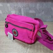 Новая спортивная сумочка через плечо.