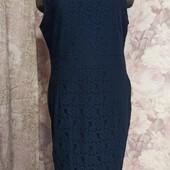 Новое.Платье ажурное,размер 16.