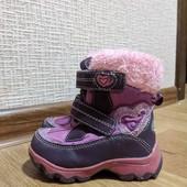 Теплые ботиночки, сапожки термо Super Gear