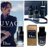 "60мл.Шикарный мужской аромат от Диор"" Саваж""-неукротимый характер сильных мужчин."
