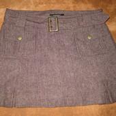 теплая юбочка! зима в составе -шерсть, размер 14-16 состояние-новое!