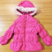 Яркая курточка для крошки 2 года + подарок шапочка!