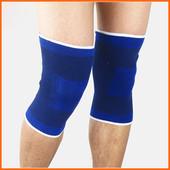 Комплект больших бандажей на колени c мягкими вставками (2 шт)