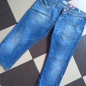 Яркие джинсовые в отличном качестве и состоянии отличное/w32